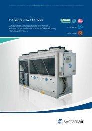 VLS/VLH/VLR 524 bis 1204 - 2013 (3 Mb) - Systemair
