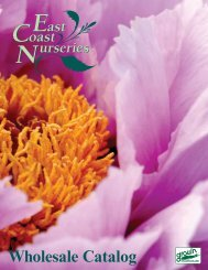 Wholesale Catalog - East Coast Nurseries