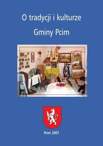 O tradycji i kulturze Gminy Pcim - Gmina Pcim
