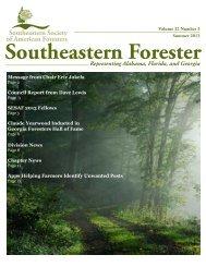 SESAF Summer 2013 Newsletter - Southeastern Society of ...
