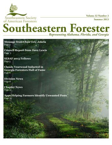 SESAF Summer 2013 Newsletter - Southeastern Society of ...