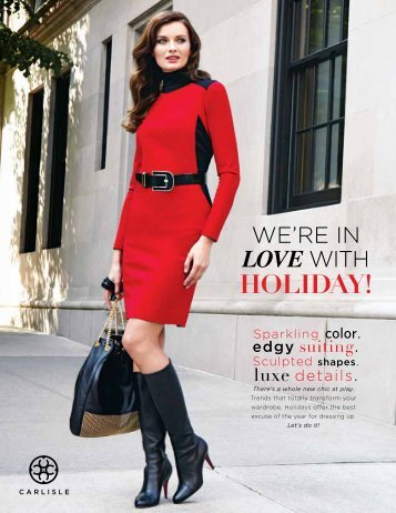 Holiday 2013 Trends - Carlisle Collection