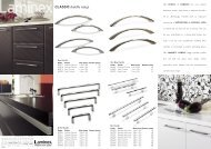 Laminex Handles - Joinery Products