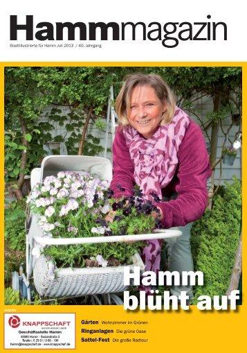 Hamm blüht auf - Verkehrsverein Hamm