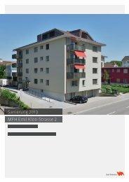 MFH Emil Klöti-Strase 2 - Departement Bau - Winterthur