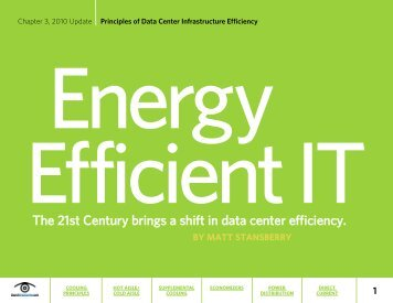 Principles of Data Center Infrastructure Efficiency - Bitpipe