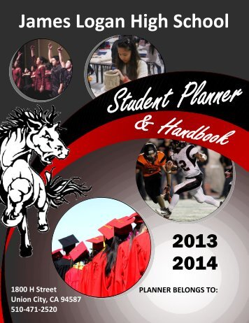 Student Handbook - James Logan High School - New Haven ...