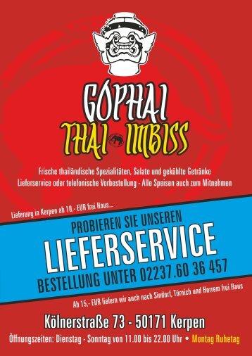 Wir halten unsere Karte auch zum Download als pdf ... - Gophai.de