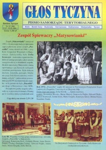 kopia 15-06 - Tyczyn, Urząd Miasta i Gminy
