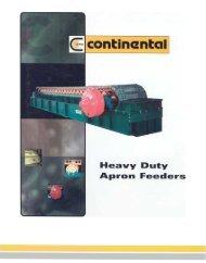 Continental Conveyor - Heavy Duty Apron Feeder Catalogue