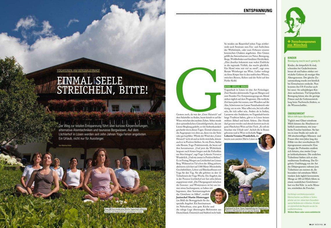 1 Free Magazines From Bauernhof Suedtirol Com