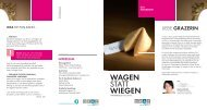 WAGEN statt WIEGEN.pdf - Frauengesundheitszentrum Graz