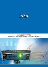 Datenblatt surfaceCONTROL (PDF, 1.57 MB) - INB Vision AG