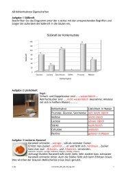 Süßkraft der Kohlenhydrate - Johanna-Wittum-Schule