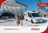 Flyer ADVANTAGE ALL-IN 2014 - Dethleffs