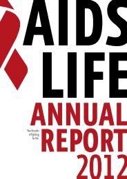 Annual Report 2012 - Life Ball