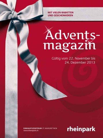 Gültig vom 22. November bis 24. Dezember 2013 - Rheinpark