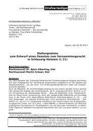Stellungnahme zum VersFG-Entwurf