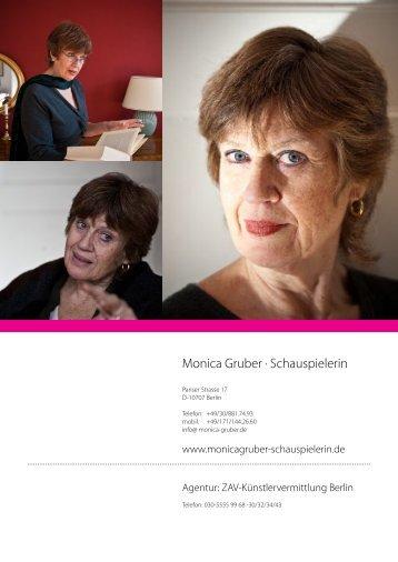 Monica Gruber · Schauspielerin - redpear