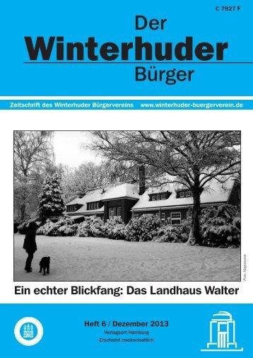 Zeitung-Heft 6 - Winterhuder Bürgerverein