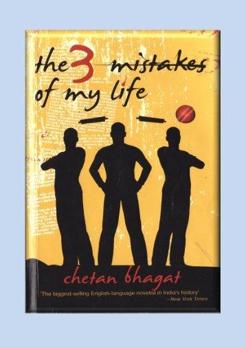 Chetan Bhagat - 3 Mistakes Of My Life.pdf - Buddy4study.com