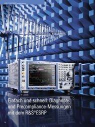 und Precompliance-Messungen mit dem R&S ... - Rohde & Schwarz
