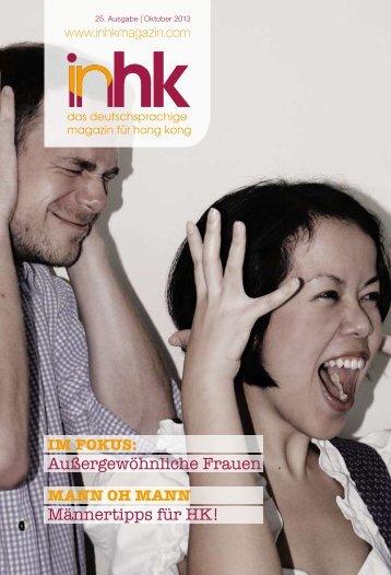 Außergewöhnliche Frauen Männertipps für HK! - inHK Magazin