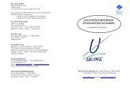 Liste meublés étudiants/stagiaires - Ugine