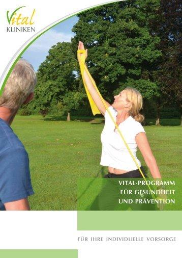 Vital-Programme - in den Vital-Kliniken