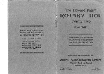 DH 22_Instruction & Parts List.pdf