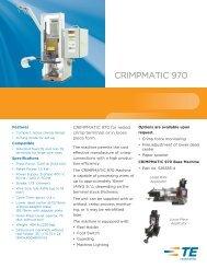Crimpmatic_970_RB.qxd:Tyco Electronics Ltd. - TE Connectivity