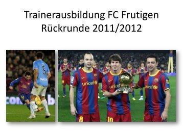 Präsentation. - FC Frutigen