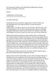 Ein interessanter Artikel aus der iPad-‐App der Süddeutschen Zeitung