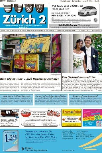 Tram Point Binz bleibt Binz – drei Bewohner erzählen - Lokalinfo AG