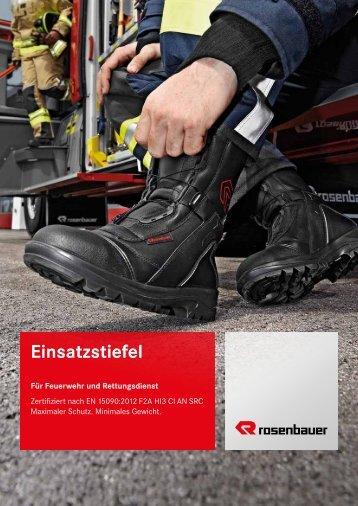 einsatzstiefel - Rosenbauer International AG