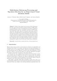 Multi-feature Bottom-up Processing and Top-down Selection for an ...
