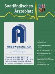 Saarländisches Ärzteblatt - Praxis Dr. med Leyking