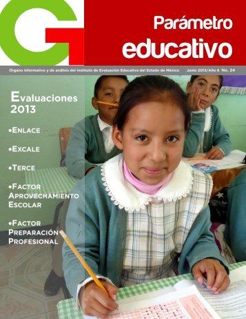 Parámetro Educativo N° 24 - Gobierno del Estado de México