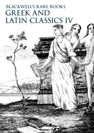 GREEK AND LATIN CLASSICS IV