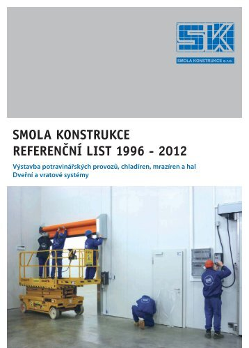 Reference 1996-2012 - Smola konstrukce, sro
