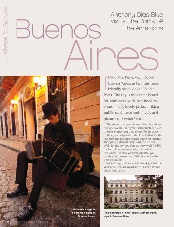 Anthony Dias Blue visits the Paris of the Americas - Wines Of ...