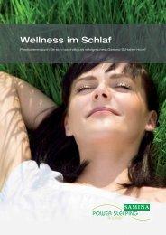 Wellness im Schlaf [PDF] - SAMINA Hotels