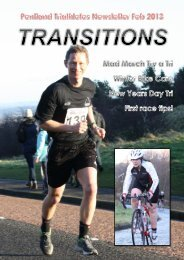February 2013 Newsletter - Pentland Triathletes