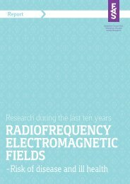 RADIOFREQUENCY ELECTROMAGNETIC FIELDS AND ... - Fas