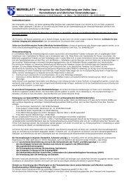 Hinweise für die Durchführung von Volks- bzw ... - Donaustauf