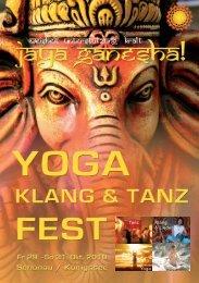 Tanz Yoga Klang & Lieder Kraft