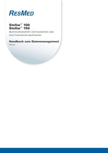 Stellar™ 100 Stellar™ 150 - ResMed