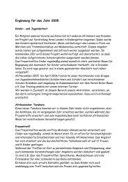 Jahresbericht 2005 - Afropa eV
