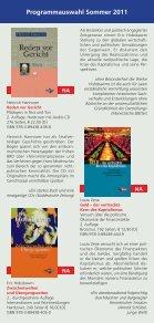 Programmauswahl Sommer 2011 - Seite 2