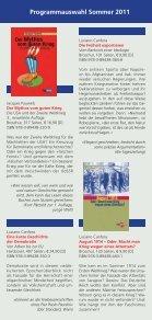 Programmauswahl Sommer 2011 - Seite 4